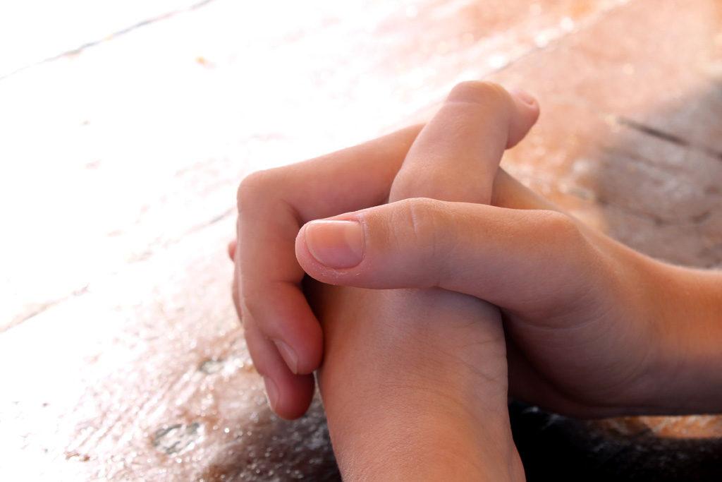 信じられない心をやめて~祈りの世界へ